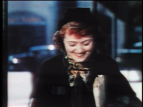 close up woman in hat smiling / hollywood, ca / feature - einzelne frau über 30 stock-videos und b-roll-filmmaterial