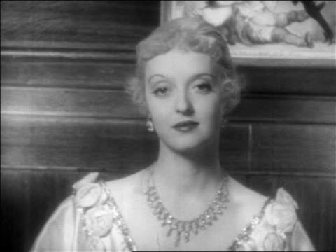 close up woman in jewels looking at camera / feature - 1934 stock videos & royalty-free footage