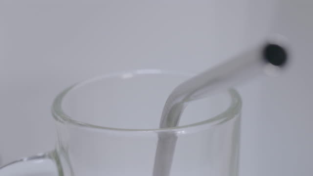 close ups of steel straws - straw stock videos & royalty-free footage