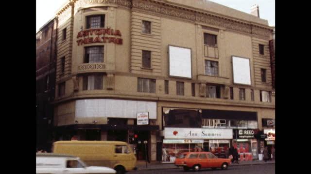 closed astoria theatre, london; 1980 - western script stock videos & royalty-free footage