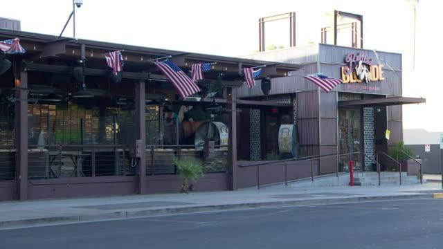 closed bars and nightclubs in phoenix arizona due to coronavirus - arizona stock videos & royalty-free footage