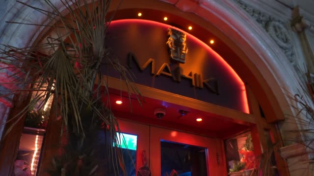 closed nightclub mahiki mayfair at uk nightlife struggle amid coronavirus pandemic on october 19, 2020 in london, england. - struggle stock videos & royalty-free footage