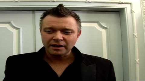 closer young heroes awards ceremony 2006 at dorchester hotel, london: celebrity interviews / presentation of awards; - watching i'm a celebrity...get... - i'm a celebrity... get me out of here stock videos & royalty-free footage