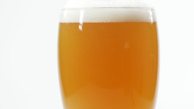 close-up a mug of beer - lager stock videos & royalty-free footage