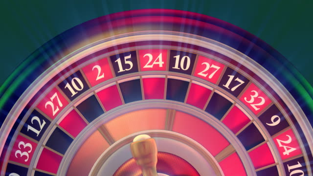 close-up casino roulette - roulette stock videos and b-roll footage
