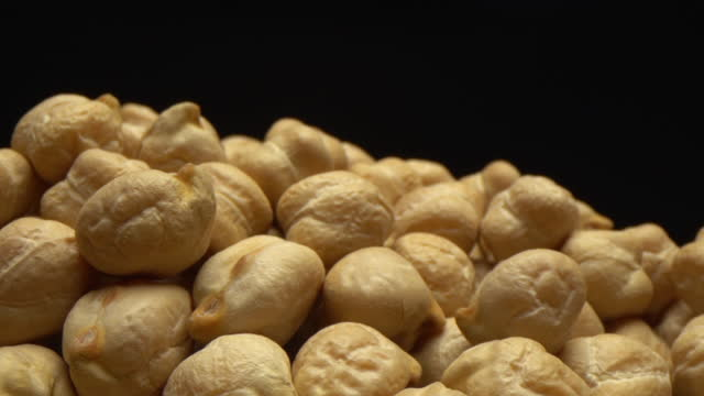 close-up chickpea - bean stock videos & royalty-free footage