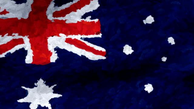 vidéos et rushes de close-up flag of austria ripples in a breeze. - banderole signalisation