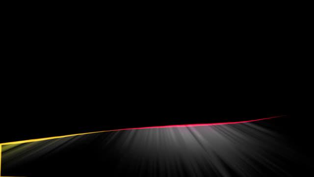 vidéos et rushes de close-up flag of germany ripples in a breeze. - banderole signalisation