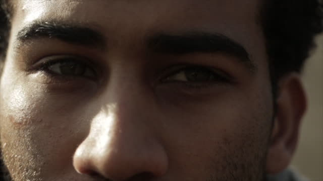 close-up footage of thoughtful young man - only men stock videos & royalty-free footage