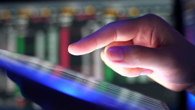 close-up hands using digital tablet computer - using digital tablet stock videos & royalty-free footage