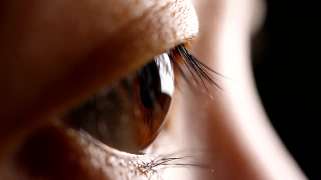 close-up human eye - retina stock videos and b-roll footage