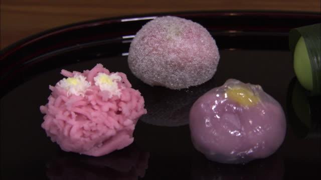 Closeup; Jo-namagashi, A Kind Of Japanese Traditional Sweets, Wagashi