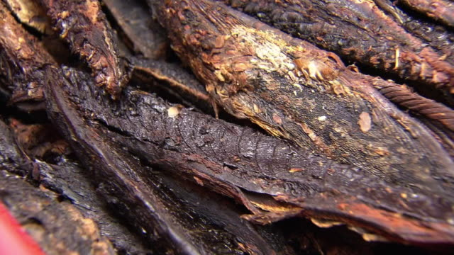 closeup; katsuobushi - smoked food stock videos and b-roll footage