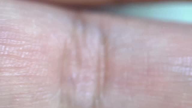 close-up macro human finger skin biology - human finger stock videos & royalty-free footage