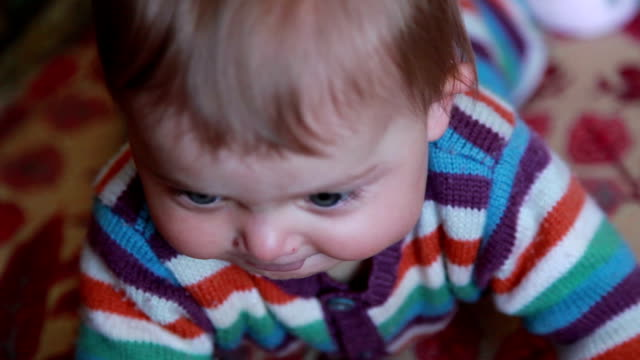 close-up of a baby openning her mouth for pacifier - pacifier stock videos and b-roll footage