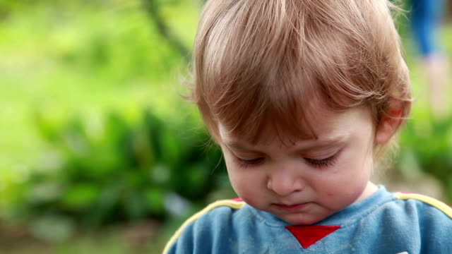 close-up of a child spitting out food - hay fever stock videos & royalty-free footage