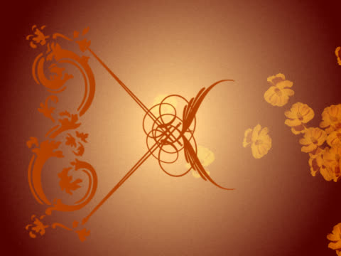 close-up of a design against a brown background - brown background stock videos & royalty-free footage