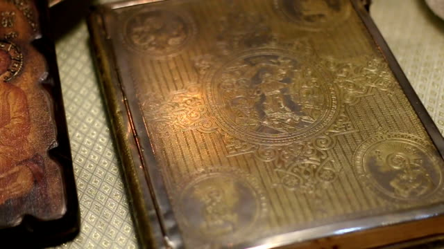 close-up of a holy book - holy book stock videos and b-roll footage