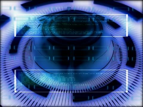vídeos de stock, filmes e b-roll de close-up of a knob rotating on a wheel - concêntrico