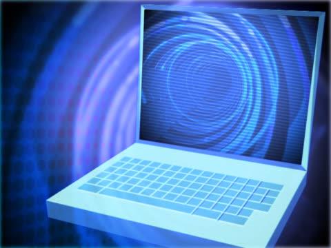 stockvideo's en b-roll-footage met close-up of a laptop - uitfaden
