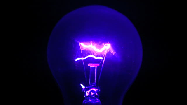 close-up of a light bulb - tungsten image stock videos and b-roll footage