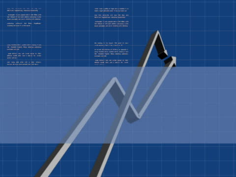 close-up of a line graph - liniendiagramm stock-videos und b-roll-filmmaterial