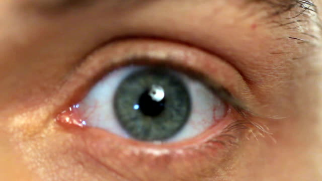 close-up of a man eye - blue eyes stock videos and b-roll footage