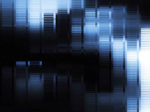 vídeos de stock e filmes b-roll de close-up of a pattern scrolling on a screen - super exposto