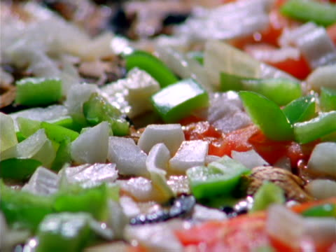 close-up of a pizza being prepared - unknown gender stock videos & royalty-free footage