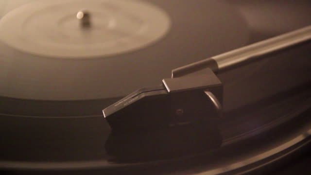 close-up of a record player and the needle. - model released - 1920x1080 - hd - deck stock videos & royalty-free footage