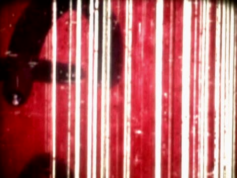 close-up of a scratched film leader - western script stock videos & royalty-free footage