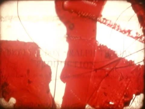 vidéos et rushes de close-up of a screen - vignetage