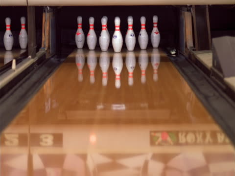 close-up of a seniors bowling ball - bowling ball stock videos & royalty-free footage