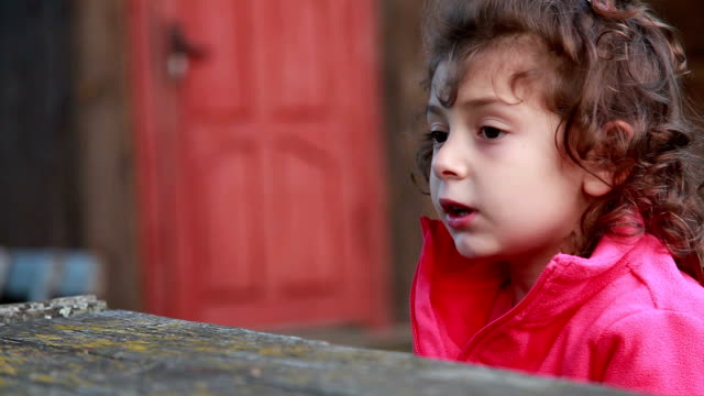 close-up of a talking child - storyteller stock videos & royalty-free footage