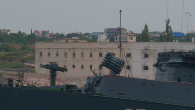 close-up of a warship - ukraine stock videos & royalty-free footage