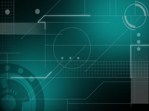 vídeos de stock, filmes e b-roll de close-up of abstract graphics - desaparecer gradualmente