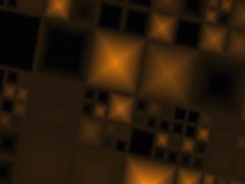 vídeos de stock e filmes b-roll de close-up of abstract patterns blinking on a screen - super exposto