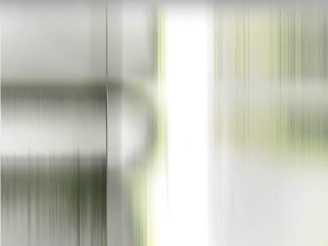 vídeos de stock, filmes e b-roll de close-up of abstract patterns moving on a screen - superexposto