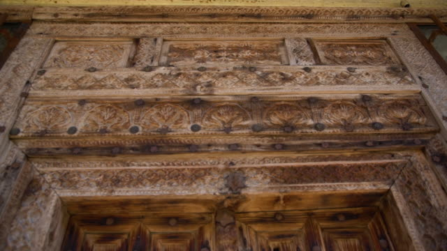 closeup of aged and weathered door - weathered stock videos & royalty-free footage