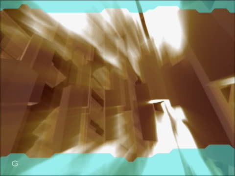 vídeos de stock e filmes b-roll de close-up of an abstract pattern glowing - escrita ocidental