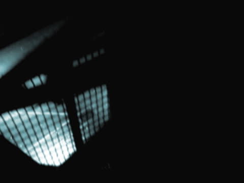 close-up of an elevator moving down - aufblenden stock-videos und b-roll-filmmaterial