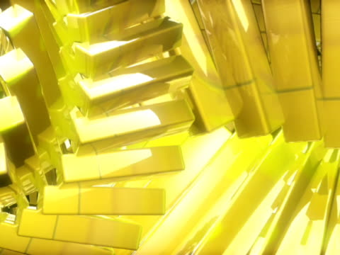 close-up of blocks in motion - manipolazione di colore video stock e b–roll
