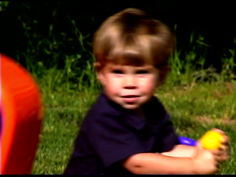 close-up of boy playing - one baby boy only stock videos & royalty-free footage