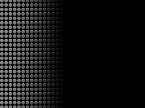 vidéos et rushes de close-up of circles on a screen - panoramique rapide