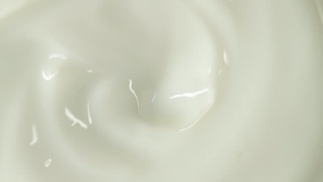 close-up of cosmetics cream - yoghurt stock videos & royalty-free footage