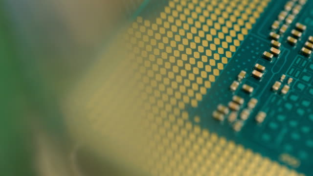 close-up of cpu - electronics industry stock videos & royalty-free footage