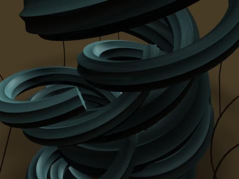 vídeos y material grabado en eventos de stock de close-up of curves spinning - doblado actividad física