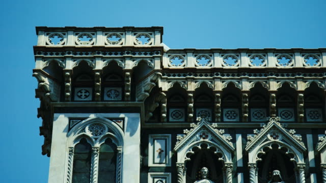 close-up of florence cathedral - fiore stock videos & royalty-free footage
