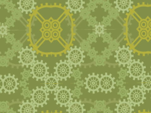 close-up of gears spinning - interlocked stock videos & royalty-free footage