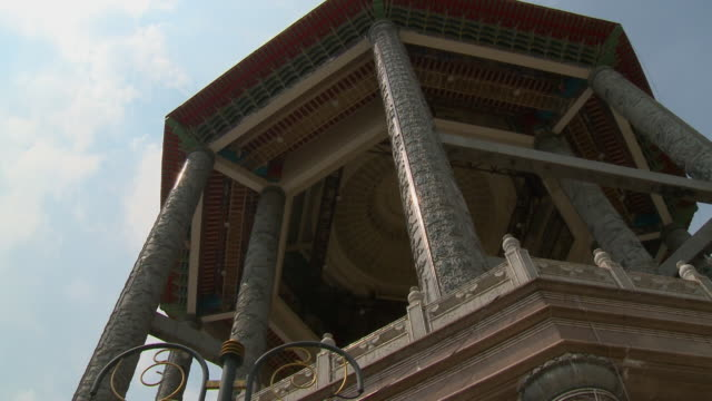 close-up of guanyin pavilion, kek lok si, malaysia - guanyin bodhisattva stock videos & royalty-free footage